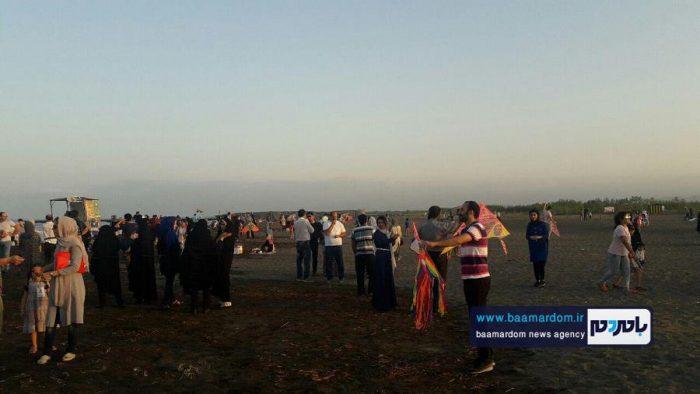 جشنواره روز ملی دریای کاسپین در ساحل لاهیجان 13 - جشنواره بین المللی پاسداشت دریای کاسپین در ساحل لاهیجان برگزار شد + تصاویر