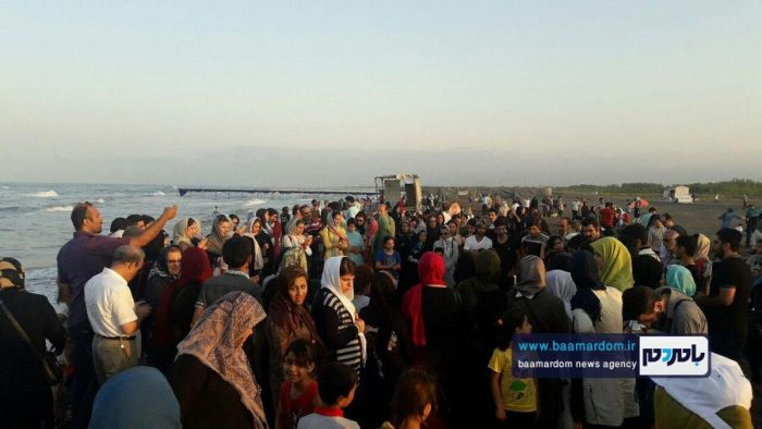 جشنواره روز ملی دریای کاسپین در ساحل لاهیجان 14 - جشنواره بین المللی پاسداشت دریای کاسپین در ساحل لاهیجان برگزار شد + تصاویر