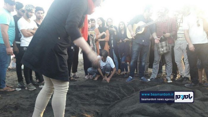جشنواره روز ملی دریای کاسپین در ساحل لاهیجان 15 - جشنواره بین المللی پاسداشت دریای کاسپین در ساحل لاهیجان برگزار شد + تصاویر