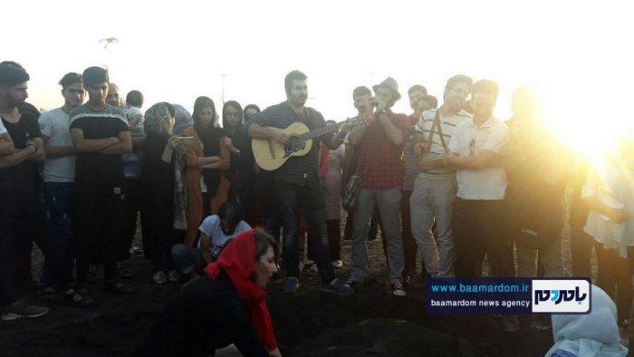 جشنواره روز ملی دریای کاسپین در ساحل لاهیجان 16 - جشنواره بین المللی پاسداشت دریای کاسپین در ساحل لاهیجان برگزار شد + تصاویر