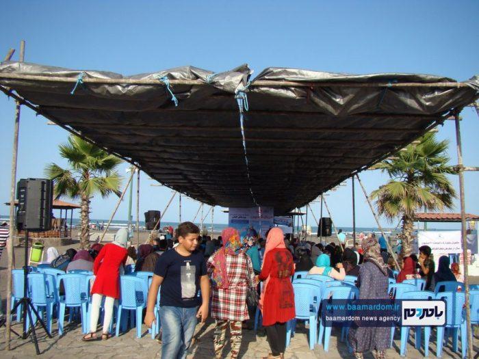 جشنواره روز ملی دریای کاسپین در ساحل لاهیجان 4 - جشنواره بین المللی پاسداشت دریای کاسپین در ساحل لاهیجان برگزار شد + تصاویر