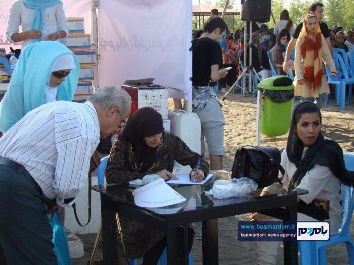 جشنواره روز ملی دریای کاسپین در ساحل لاهیجان 5 - جشنواره بین المللی پاسداشت دریای کاسپین در ساحل لاهیجان برگزار شد + تصاویر