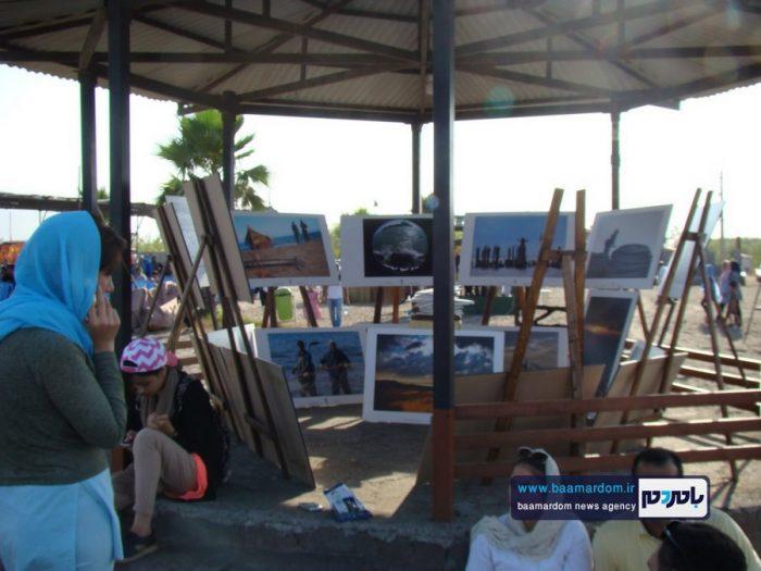 جشنواره روز ملی دریای کاسپین در ساحل لاهیجان 8 - جشنواره بین المللی پاسداشت دریای کاسپین در ساحل لاهیجان برگزار شد + تصاویر