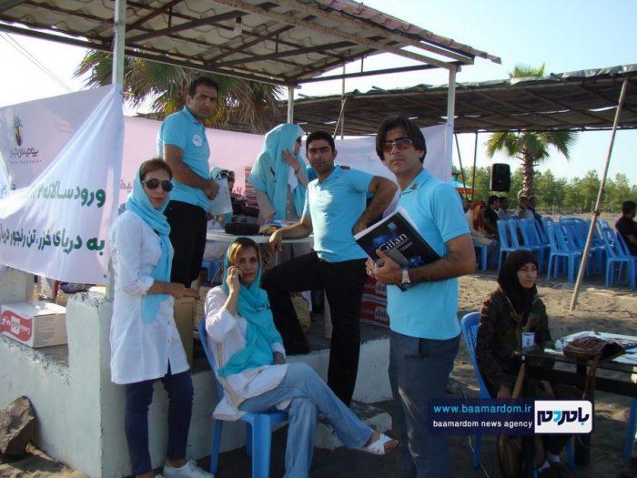 جشنواره روز ملی دریای کاسپین در ساحل لاهیجان 9 - جشنواره بین المللی پاسداشت دریای کاسپین در ساحل لاهیجان برگزار شد + تصاویر