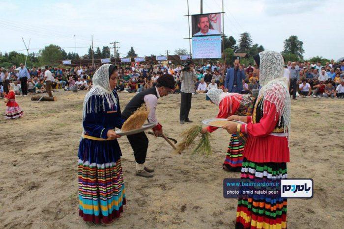 جشن شکرگزاری برداشت برنج در چابکسر | گزارش تصویری