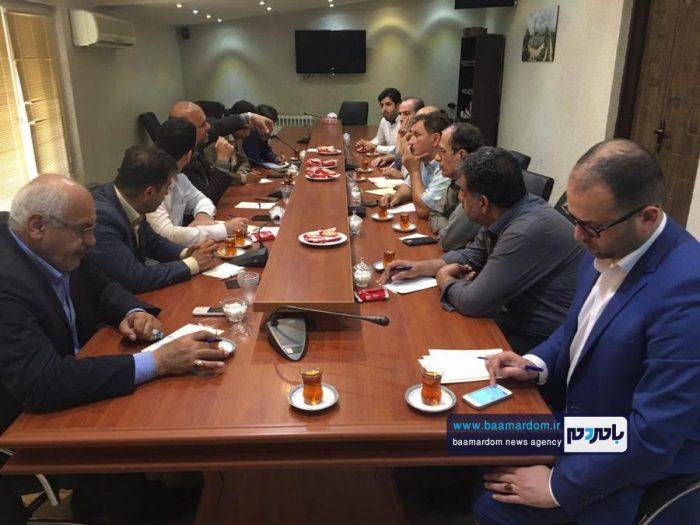 جلسه ستاد بزرگداشت غدیرخم در شهرداری لاهیجان برگزار شد