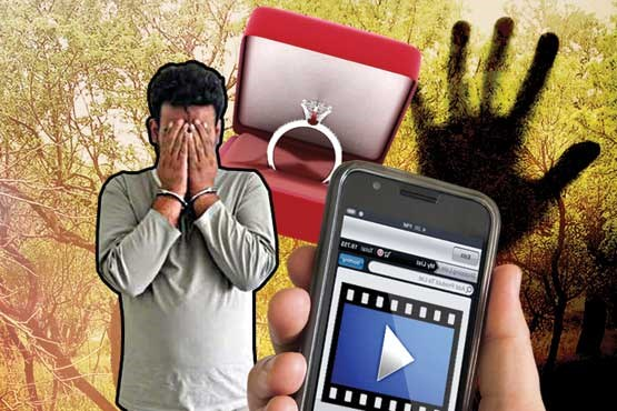 حوادث فیلم سیاه دستگیری - شیرین نمی دانست سیاوش از لحظات خصوصی شان فیلم می گیرد!