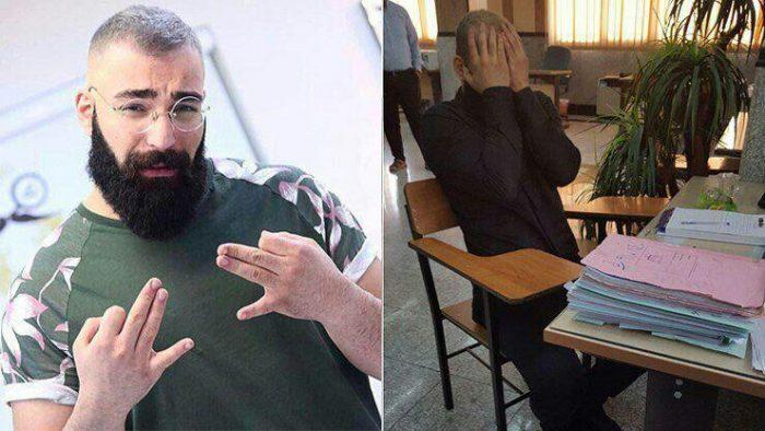 حمید صفت خواننده رپ به اتهام قتل شوهر مادرش دستگیر شد|عکس