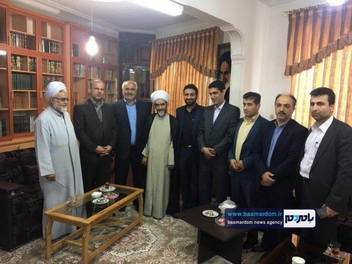 دیدار اعضای شورای شهر لاهیجان با امام جمعه این شهر + تصاویر