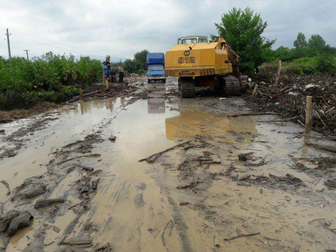 خسارات ۱۰۰ میلیارد ریالی سیل در سه شهرستان گیلان