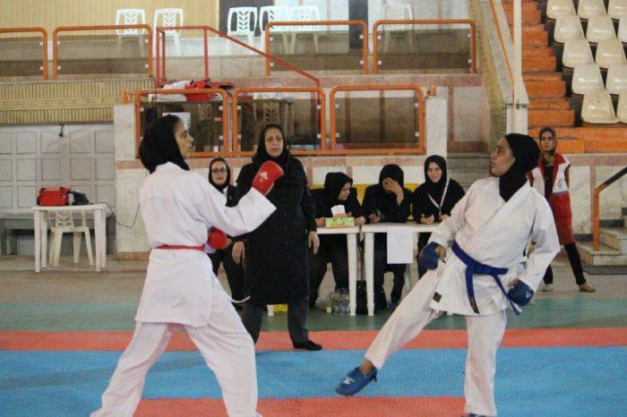 لاهیجان قهرمان مسابقات کاراته بانوان شوتوکان گیلان شد