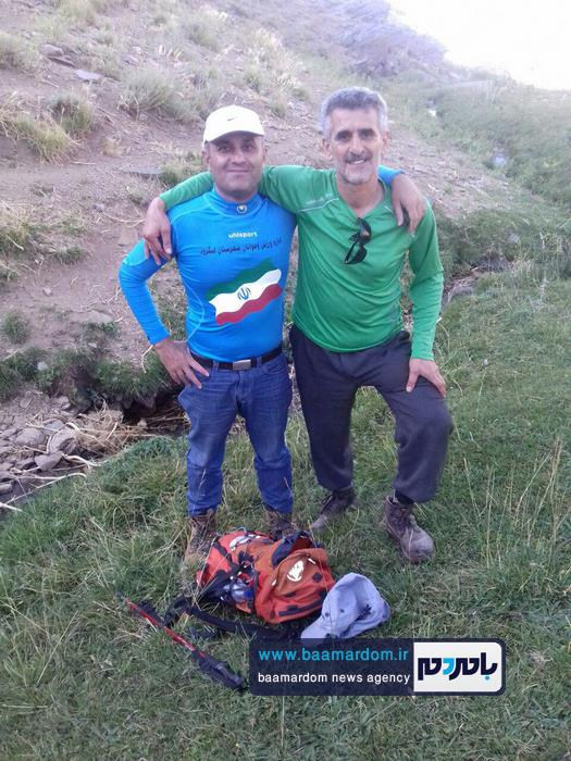 صعود کوهنوردان لنگرودی به قله ۳۶۰۰ متری بلقیس 4 - صعود کوهنوردان لنگرودی به قله ۳۶۰۰ متری بلقیس + تصاویر