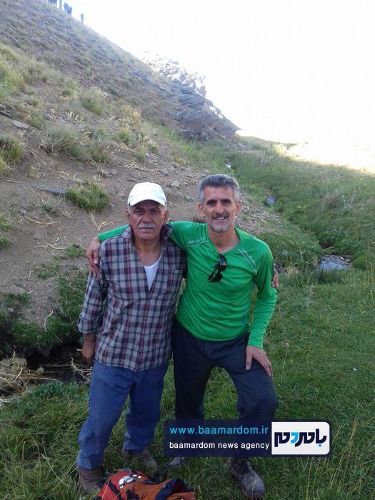صعود کوهنوردان لنگرودی به قله ۳۶۰۰ متری بلقیس 5 - صعود کوهنوردان لنگرودی به قله ۳۶۰۰ متری بلقیس + تصاویر