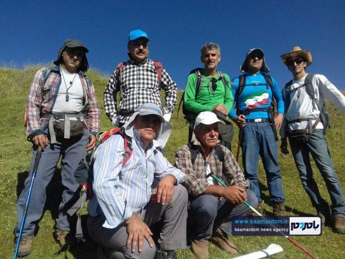 صعود کوهنوردان لنگرودی به قله ۳۶۰۰ متری بلقیس 7 - صعود کوهنوردان لنگرودی به قله ۳۶۰۰ متری بلقیس + تصاویر