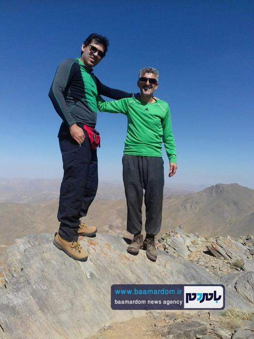 صعود کوهنوردان لنگرودی به قله ۳۶۰۰ متری بلقیس 8 - صعود کوهنوردان لنگرودی به قله ۳۶۰۰ متری بلقیس + تصاویر