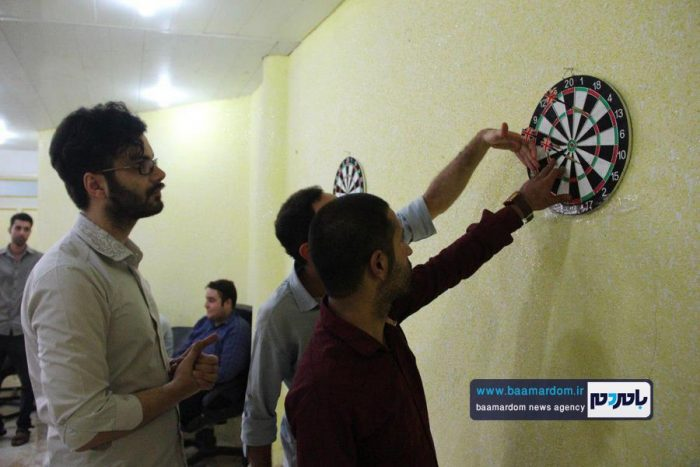 نخستین دوره مسابقات دارت و مچاندازی ویژه خبرنگاران در لاهیجان برگزار شد | گزارش تصویری