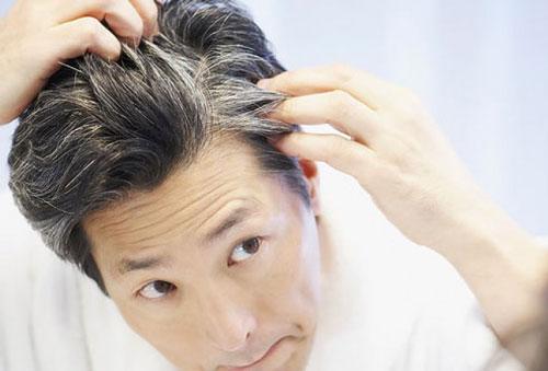 راهی ساده و بی ضرر برای سیاه شدن موهای سفید شده