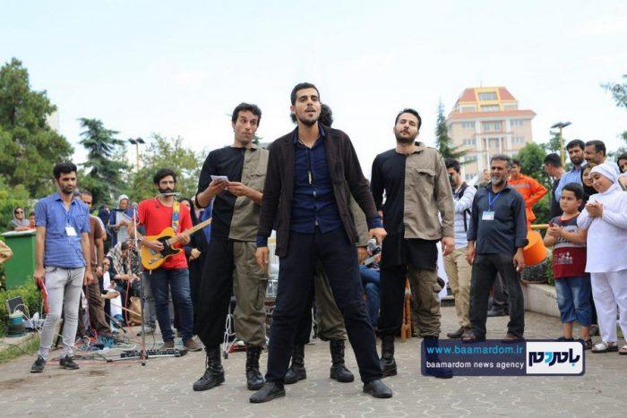 گزارش تصویری | نخستین روز از جشنواره تئاتر خیابانی شهروند لاهیجان