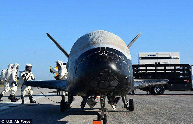 نیروی هوایی آمریکا در آستانه انجام یک ماموریت مخفیانه در فضا + تصاویر