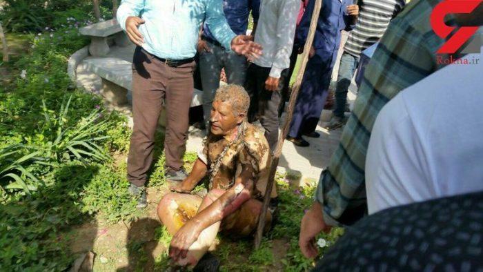 مرگ تلخ پس از خودسوزی در برابر شهرداری قم | عکس