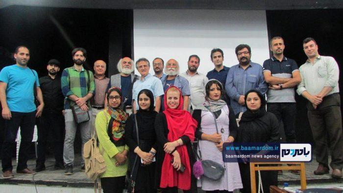 چهل و هشتمین جلسه پاتوق فیلم و فیلمنامه کوتاه لاهیجان برگزار شد   گزارش تصویری