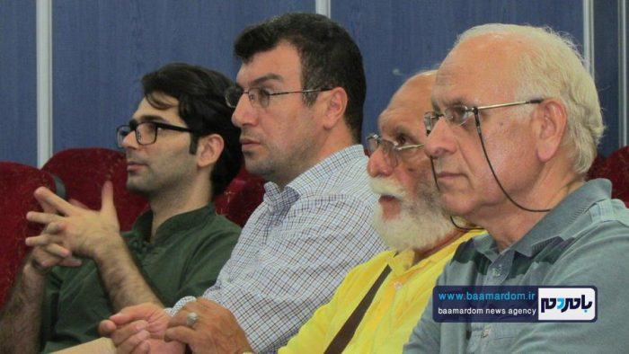 چهل و هفتمین جلسه پاتوق فیلم و فیلمنامه لاهیجان برگزار شد + تصاویر
