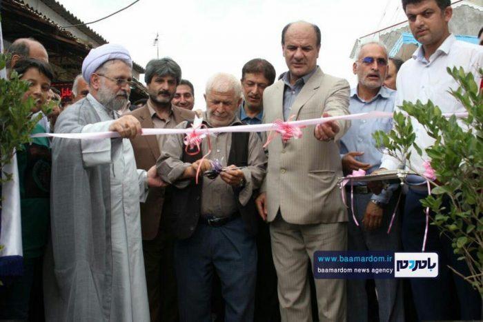 گزارش تصویری از افتتاح همزمان پروژههای شهرداری آستانه اشرفیه در هفته دولت
