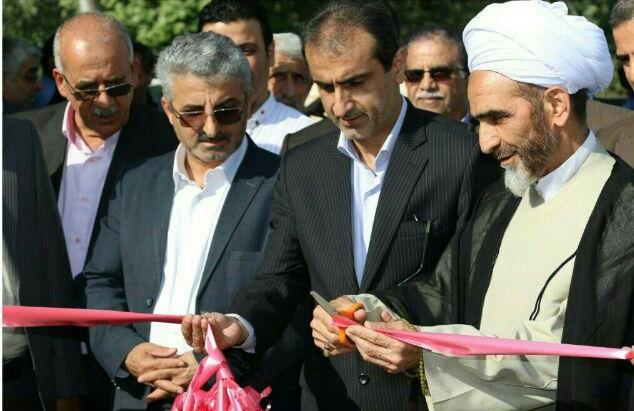 افتتاح چند طرح عمرانی در بخش رودبنه شهرستان لاهیجان