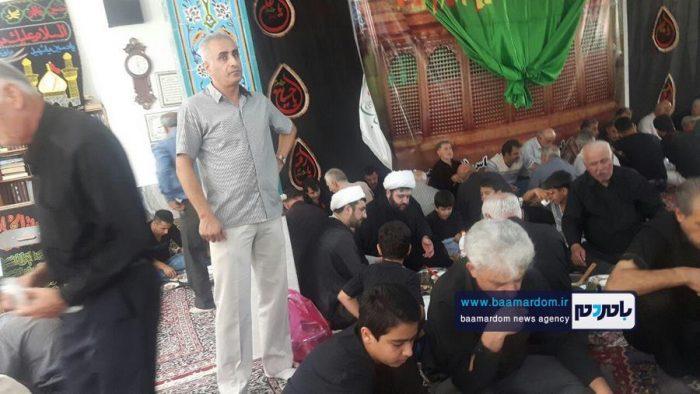 آئین علمبندی در روستای شادهسر لاهیجان برگزار شد + تصاویر
