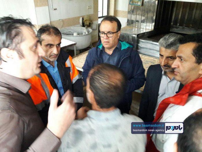 وقتی با وجود بارش بیسابقه و سیل آسا باران در کمتر از چند ساعت وضعیت لاهیجان عادی میشود + گزارش تصویری