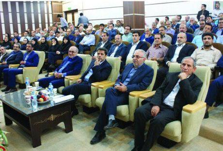 مراسم تودیع و معارفه مدیرعامل شرکت گاز استان گیلان برگزار شد