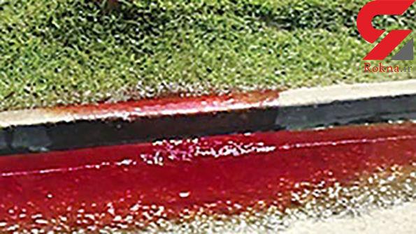 جاری شدن خون از یک گورستان! + جزئیات