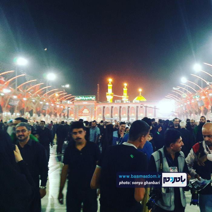 حضور دستههای عزاداری حسینی در حرمین کربلا | گزارش تصویری اختصاصی