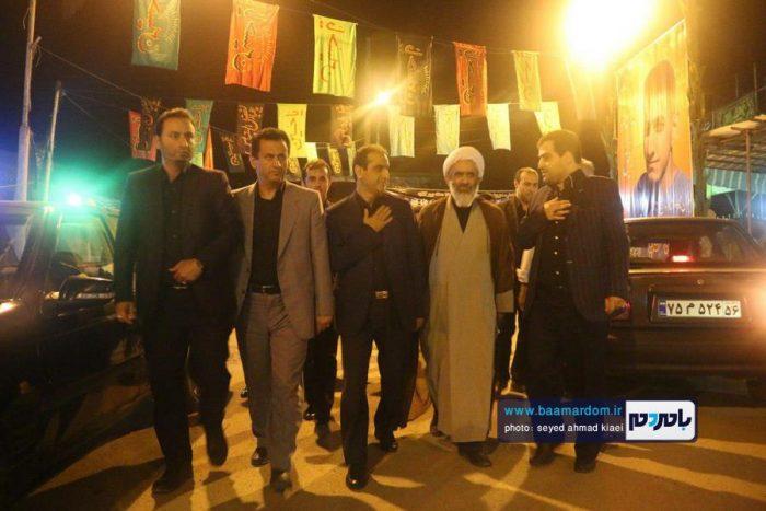 حضور فرماندار و مسئولین لاهیجان در مراسم سوگواری روستاهای بخش رودبنه   گزارش تصویری