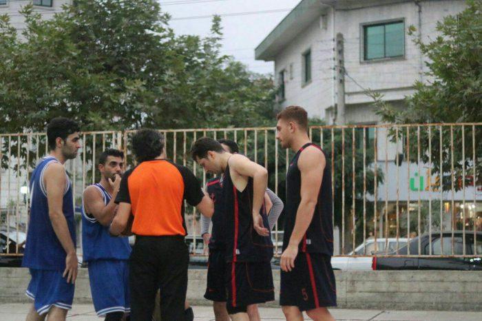 دومین دوره مسابقات بسکتبال خیابانی در لاهیجان برگزار شد + عکس