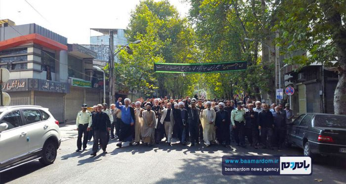 راهپیمایی نمازگزاران لاهیجانی علیه اظهارات سخیف ترامپ + تصاویر