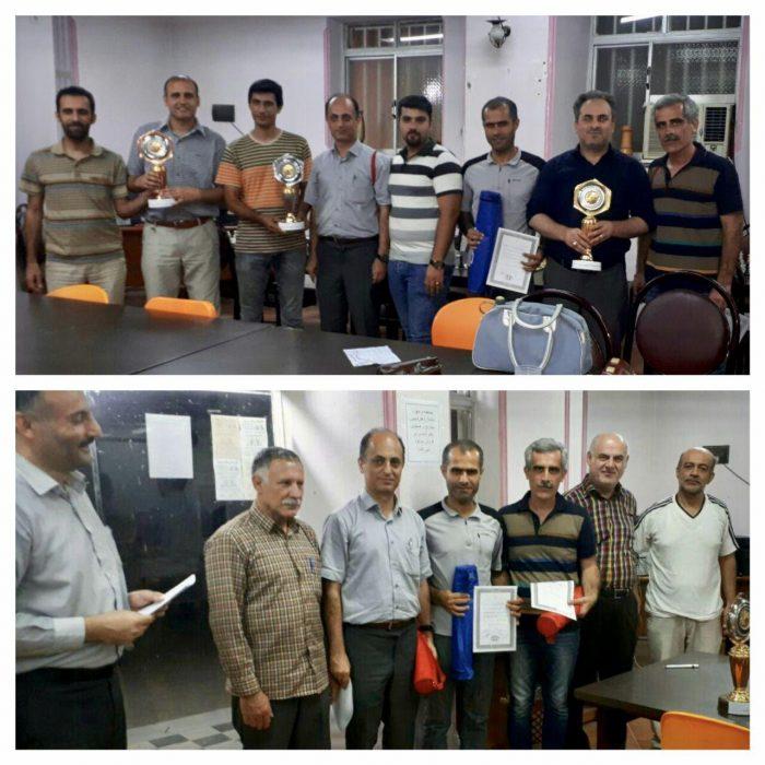 قهرمانی تیم شطرنج اعضا دانشگاه آزاد لاهیجان در مسابقات شطرنج هفته دولت