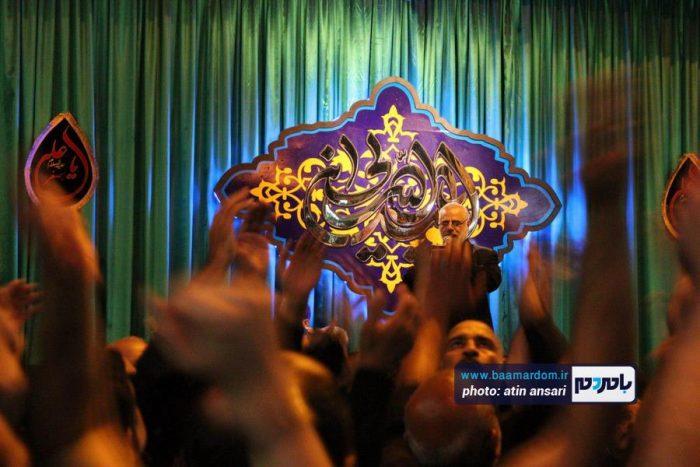 مراسم علمبندی و عزاداری محله شعربافان لاهیجان