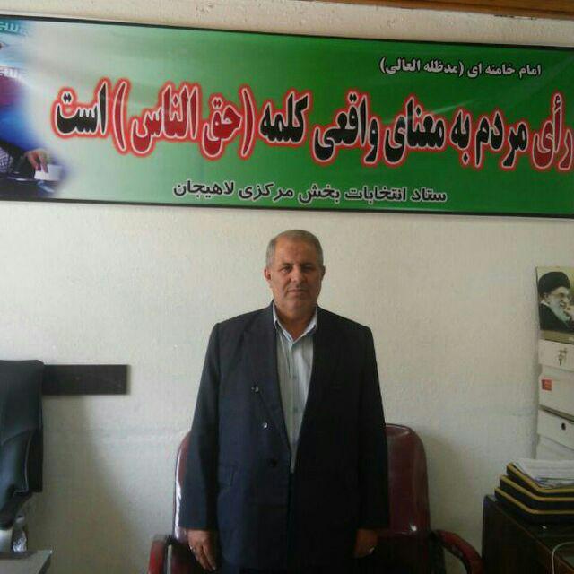 مسعود بخشعلی پور رئیس شورای بخش مرکزی شهرستان لاهیجان شد