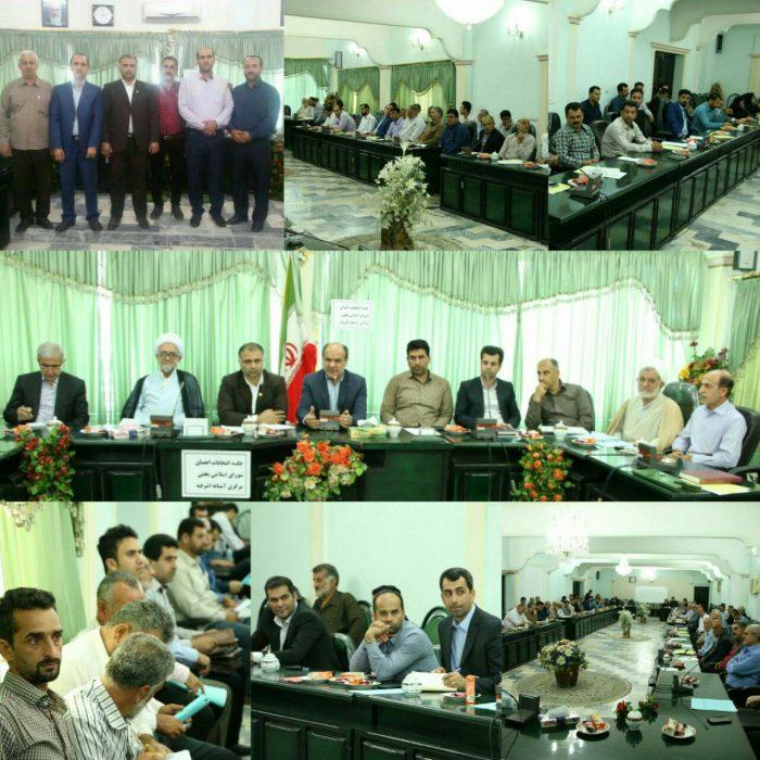 منتخبین شورای بخش مرکزی آستانه اشرفیه معرفی شدند + اسامی
