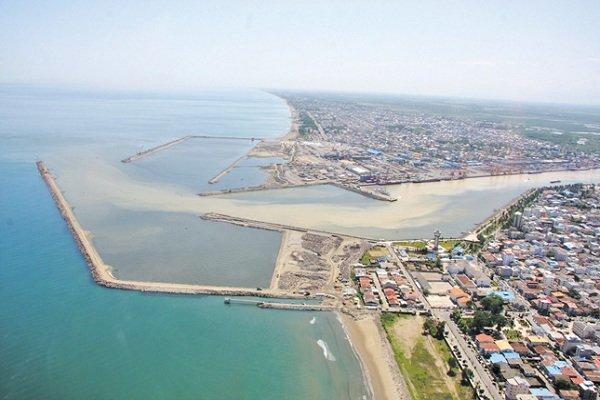 آزاد انزلی - بندر کاسپین به عنوان مرز دریایی شناخته شد