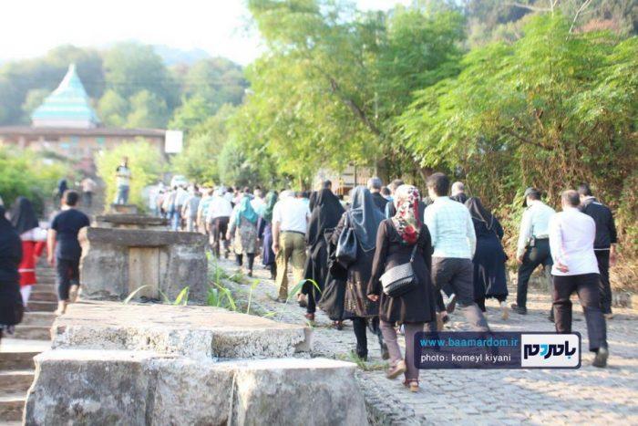 همایش پیادهروی خانوادگی در لاهیجان برگزار شد + تصاویر