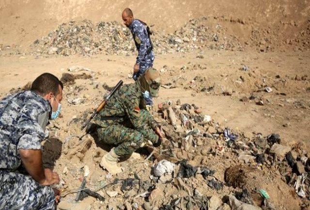 کشف گورستان زنانه داعشیها