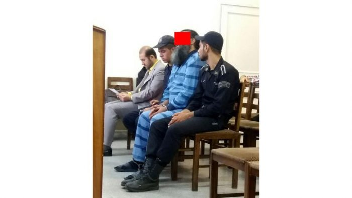 قاتل: اعدامم کنید وگرنه داعشی میشوم! + عکس دادگاه تهران