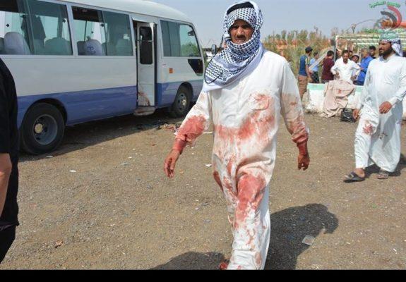 1396062321105713711927734 575x400 - داعشی ها 8 ایرانی را شهید کردند | جزئیات حمله تروریستی امروز داعش در عراق + اسامی شهدا و مجروحین ایرانی