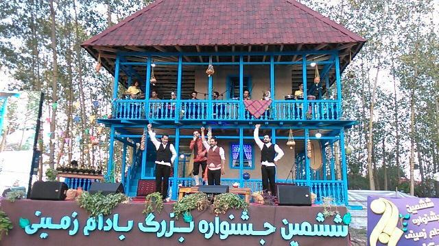ششمین جشنواره بادام زمینی در آستانه اشرفیه برگزار شد