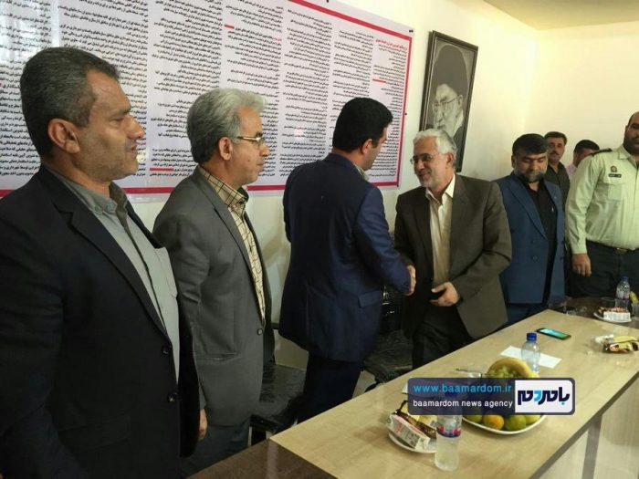آیین تکریم و معارفه شهردار شلمان برگزار شد + تصاویر