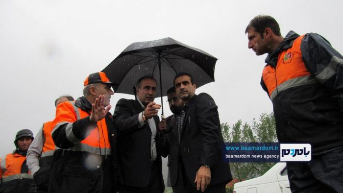 بازدید فرماندار لاهیجان از نقاط مختلف شهرستان + تصاویر