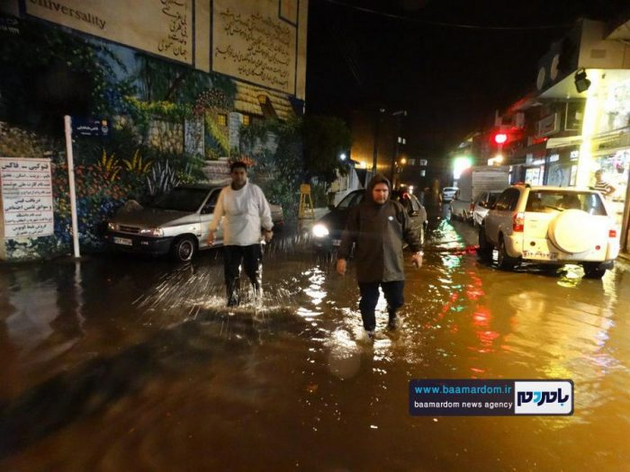 تدبیر شهردار جوان لنگرود شهر را از ونیز شدن نجات داد + گزارش تصویری