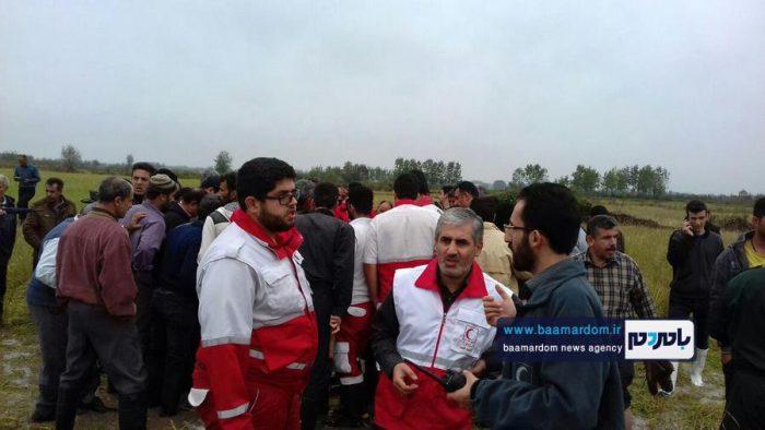 جسد شکارچی 35ساله در مزارع اطراف لاهیجان 11 - جسد شکارچی 35ساله در مزارع اطراف لاهیجان پیدا شد + گزارش تصویری
